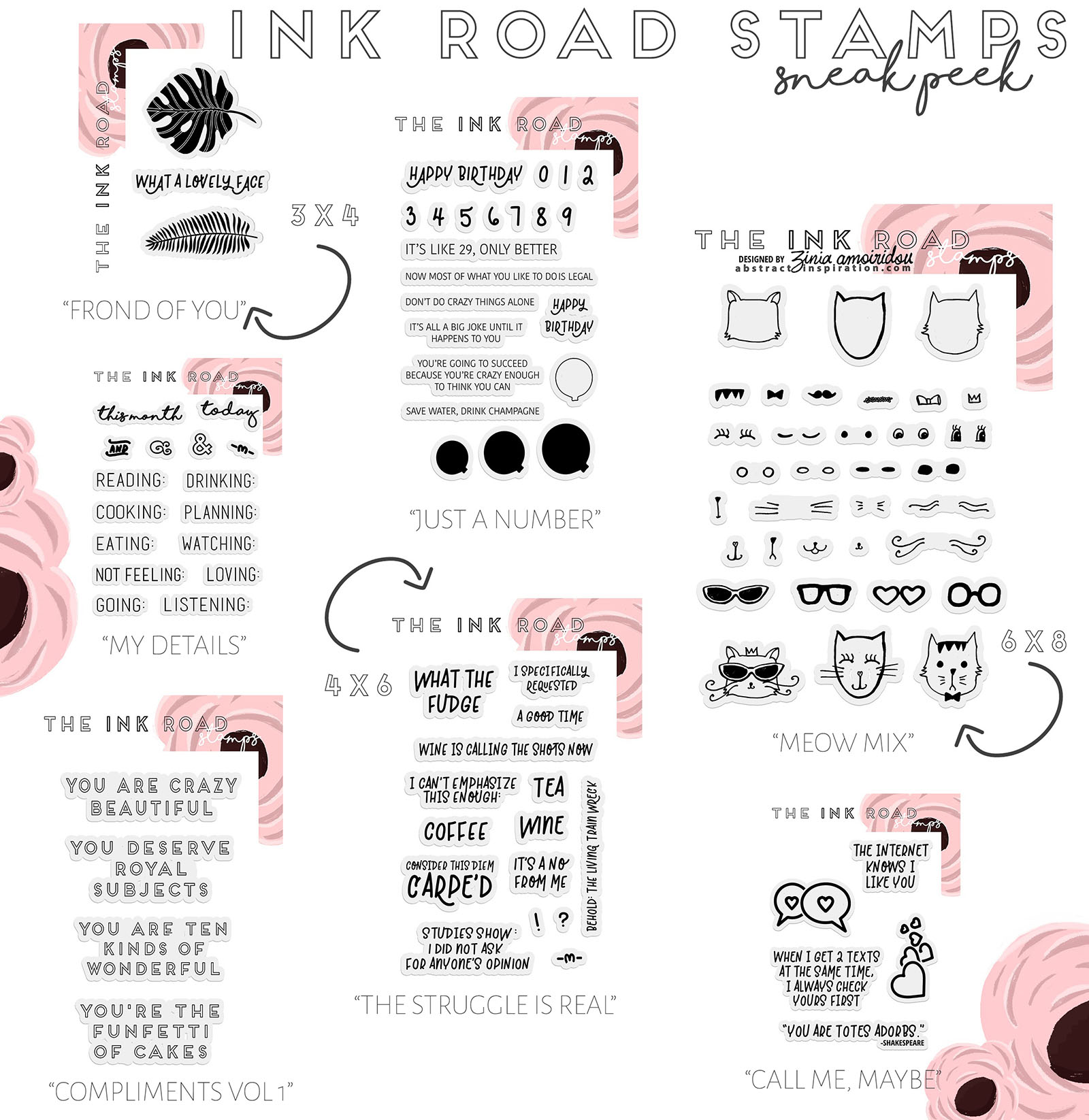 Ink Road Stamp Collection