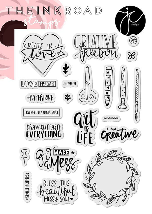 Ink Road Stamps - #beautifulmess