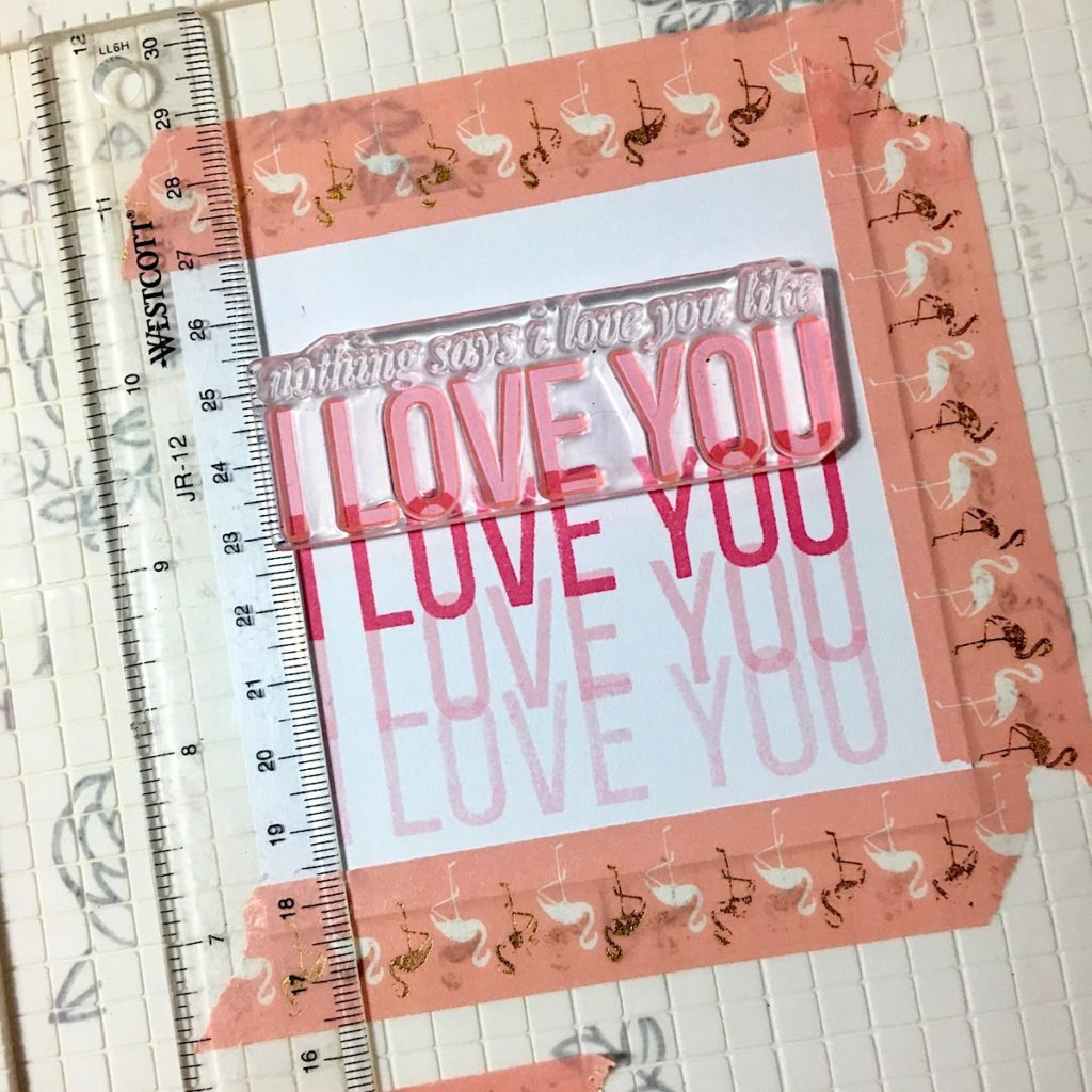 Modern Romance Card by Angela Tombari for The Ink Road Stamps 04